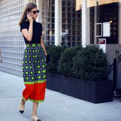New York Fashion Week is almost done, but the style on the streets stays strong.
