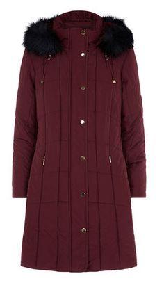 Planet Maroon Winter Coat