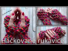 Háčkované rukavice s krokodílím vzorom/ Fingerless gloves with crocodile stitch (english subtitles) - YouTube Crocodiles, Crochet Necklace, Youtube, Crocodile, Youtubers, Youtube Movies