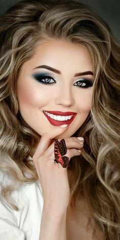 Beautiful Teeth, Beautiful Long Hair, Beautiful Smile, Lovely Girl Image, Photography Poses Women, Beauty Shoot, Flawless Face, Stylish Girls Photos, Day Makeup