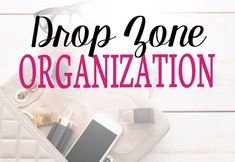 40 Weeks 1 Whole House: Week 33 - Creating a Family Drop Zone Laundry Room Organization, Paper Organization, Organization Ideas, Drop Zone, Create A Family, Organize Your Life, Going Crazy, Tips, Professional Organizers