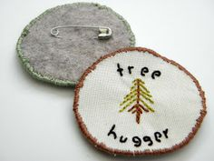 Make some merit badges for fall! | Lilla Luise