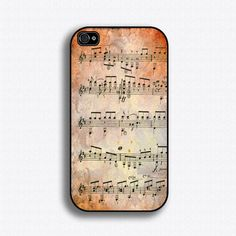 Mozart Sheet Music iPhone case for iPhone 4 and by iCaseSeraSera, $17.99