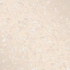 Decorline Palatine Champagne Leaves Wallpaper - 2735-23306