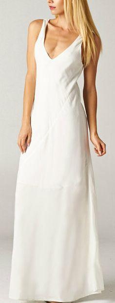Diana Dress in Ivory