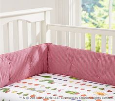 The Very Hungry Caterpillar™ Crib Fitted Sheet #PotteryBarnKids