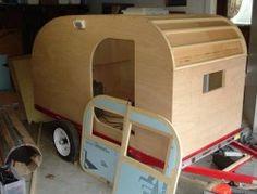 Diy Teardrop Camping Trailer home decoration photo Teardrop Trailer Plans, Building A Teardrop Trailer, Teardrop Camping, Teardrop Camper Trailer, Camping Trailer Diy, Diy Camper Trailer, Camping Gear, Camping Hacks, Minivan Camping