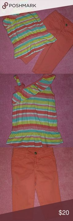 Gymboree outfit Gymboree outfit size 4 with adjustable straps for capris. Gymboree Matching Sets