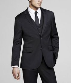 STRETCH WOOL BLEND PRODUCER SUIT JACKET at Express  #ExpressHoliday