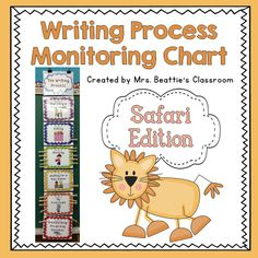 Writing Organization Woes Solved in Mrs. Beattie's Classroom! ~Safari Theme~