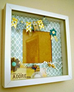 """MY 12 MONTHS OF CARDS: Cornice """"little boy"""""""