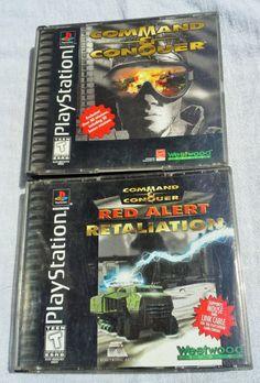 #ps #commandandconquer #redalertretaliation #playstationone #videogames #ebay
