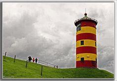 Leuchtturm von Pilsum / Nordsee / Ostfriesland *** Lighthouse of Pilsum / the North Sea / East Friesland / Germany by unicorn 81