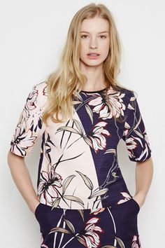 Shop the Latest Clothes & Fashion Winter Tops For Women, Casual Tops For Women, Textile Prints, Floral Prints, Fancy Tops, Women Wear, Ladies Wear, Print Patterns, Pattern Design