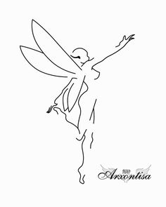 love this design, it's not typical like most faerie tattoos.