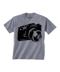 Look at this Gray Camera Tee - Toddler & Kids on #zulily today!