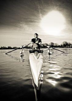 Rowing:  I miss it.