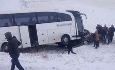 Kahramanmaraş Afşinde feci kaza: 1 ölü 3