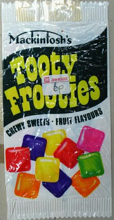 Sweet wrappers over the years - very reasonable price Old Sweets, Vintage Sweets, Retro Sweets, Vintage Toys, Retro Food, Vintage Candy, Retro Vintage, 1980s Childhood, Childhood Days