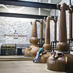 Bourbon Country...Crisscross central Kentucky to tour seven distilleries of the Kentucky Bourbon Trail