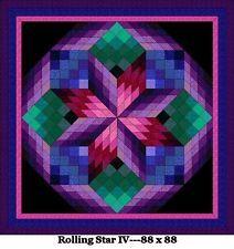 Beginner Bargello Quilt Patterns   Quilt Patterns---Bed Sizes--From JBuren
