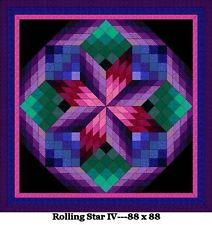 Beginner Bargello Quilt Patterns | Quilt Patterns---Bed Sizes--From JBuren