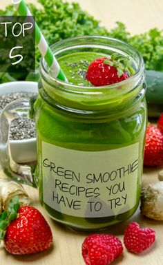 Delicious Green Smoothie Recipes You haven't tried yet...