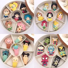 Cupcakes Decorados Disney Ideas For 2019 Disney Desserts, Cute Desserts, Disney Food, Macaron Cookies, Macaroons, Comida Disney, Round Gift Boxes, Cute Baking, Kawaii Dessert