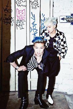 G-Dragon & Taeyang forHarper's Bazaar Man,March 2014