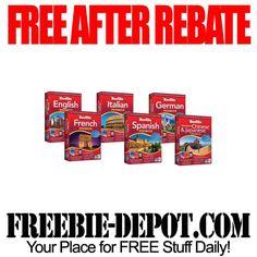 FREE AFTER REBATE - Language Software - exp 7/4/13