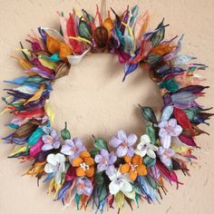 Twistart wreath