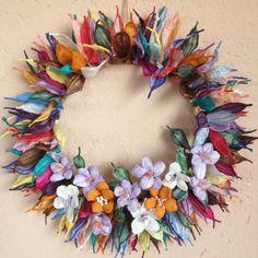 Twistart wreath