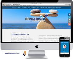 Rediseño de página web para Bioequilibra - Terapia Bioenergetica. #Coyoacan #Mexico #Terapias www.bioequilibra.com