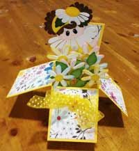 Daisy Girl Card in a Box