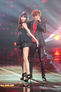 TroubleMaker - KBS Gayo Daejun 2012 Trouble Maker Now, Jang Hyun Seung, Queen Queen, Cube Entertainment, Punk, Kpop, Punk Rock