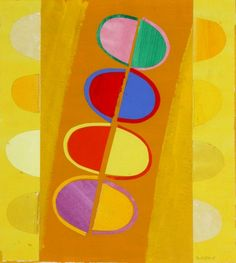 Terry Frost - sunshine in rain Abstract Images, Abstract Art, Candy Art, British Artists, Artist Studios, Virtual Museum, St Ives, Inspiration For Kids, Kandinsky