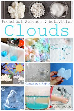 Crafts, Activities & Science Experiments about Clouds