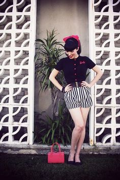 Love the shorts! I still have some of that striped fabric... maybe use Iris pattern from Colette?