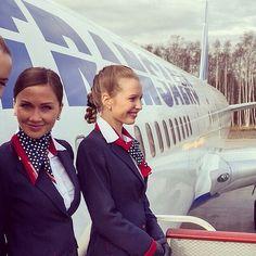 Transaero Stewardesses @topstewardess