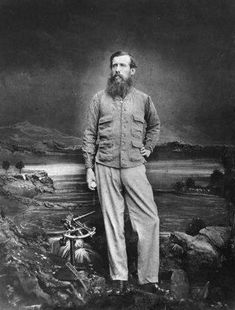 British explorer John Hanning Speke traveled to Africa to find the source of the Nile in the 1860's.