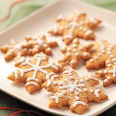 Butterscotch Gingerbread Cookies Recipe from Taste of Home -- shared by Kara Cook of Elk Ridge, Utah