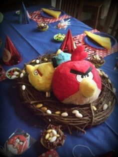 Angry Birds Tablecenterpiece