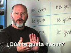 ▶ (video, 'The Verb Gustar'/ Talking about likes and dislikes)