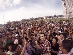 KETIKA Ahok sedang kampanye CALON Gubernur DKI