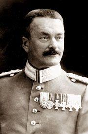Paul von Kneussl (1862-1928).jpg Bawarski generał porucznik, który dowodził zwycięskim szturmem przemyskich fortów na przełomie maja- czerwca 1915 r.