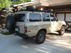 1986 FJ60; Desert Beige