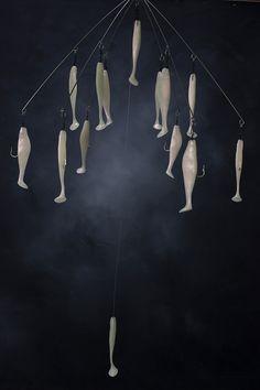 """20/"""" Umbrella Frame Kit WHITE shadswivels"""