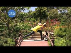 yogaTip: Advanced: Reverse Bird of Paradise