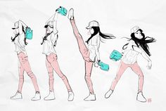 Some Baseball Girl by SteveAhn.deviantart.com on @deviantART ★ || CHARACTER DESIGN REFERENCES | キャラクターデザイン • Find more artworks at https://www.facebook.com/CharacterDesignReferences & http://www.pinterest.com/characterdesigh and learn how to draw: #concept #art #animation #anime #comics || ★