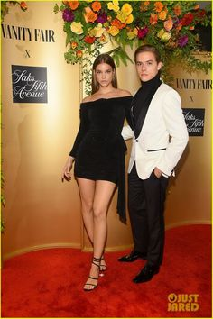 Barbara Palvin & Dylan Sprouse - Vanity Fair and Saks Fifth Avenue celebrate Vanity Fair's Best-Dressed 2018 in NYC (September Dylan Sprouse, Barbara Palvin, Celebrity Couples, Celebrity Style, Celebrity Pictures, Fashion Models, Fashion Show, Famous Couples, Mannequins
